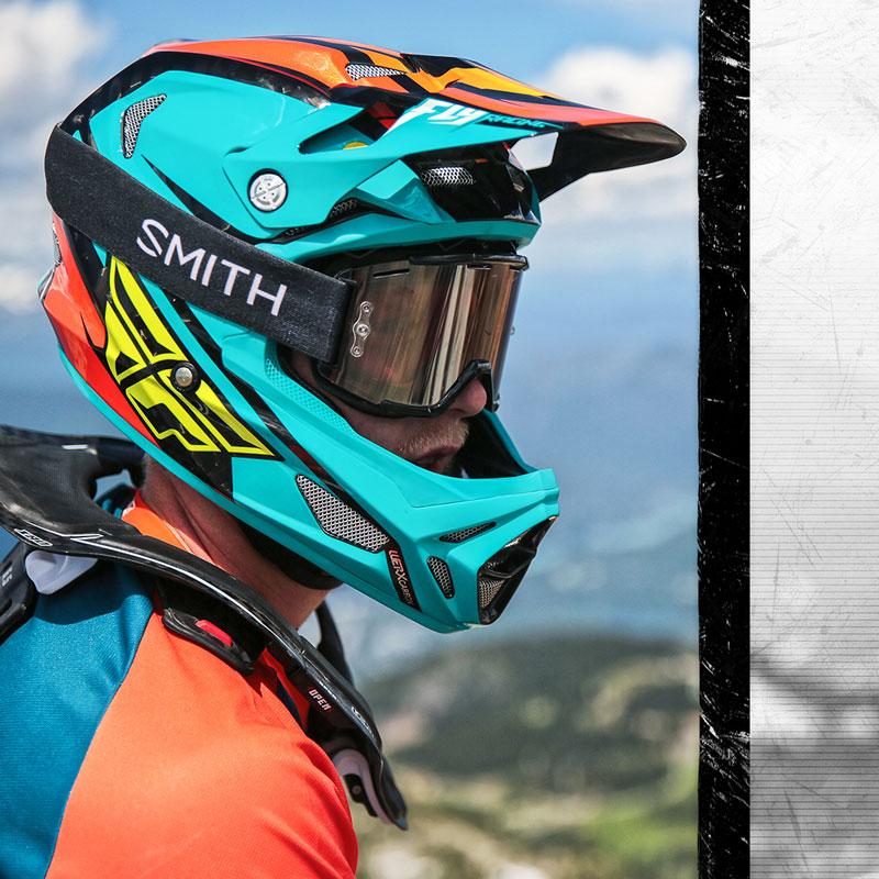 Fly Racing 2017/Metallgeschenkbox Erwachsene Motocross MX MTB DOWNHILL Handschuhe/ /Schwarz//Lime